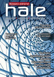 Nowoczesne Hale wydanie nr 3/2020