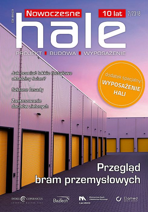 Nowoczesne Hale wydanie nr 2/2018