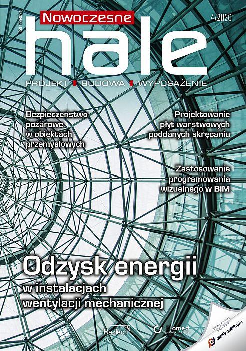 Nowoczesne Hale wydanie nr 4/2020