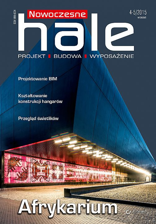 Nowoczesne Hale wydanie nr 4-5/2015