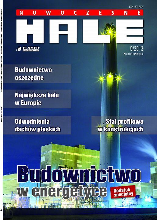 Nowoczesne Hale wydanie nr 5/2013