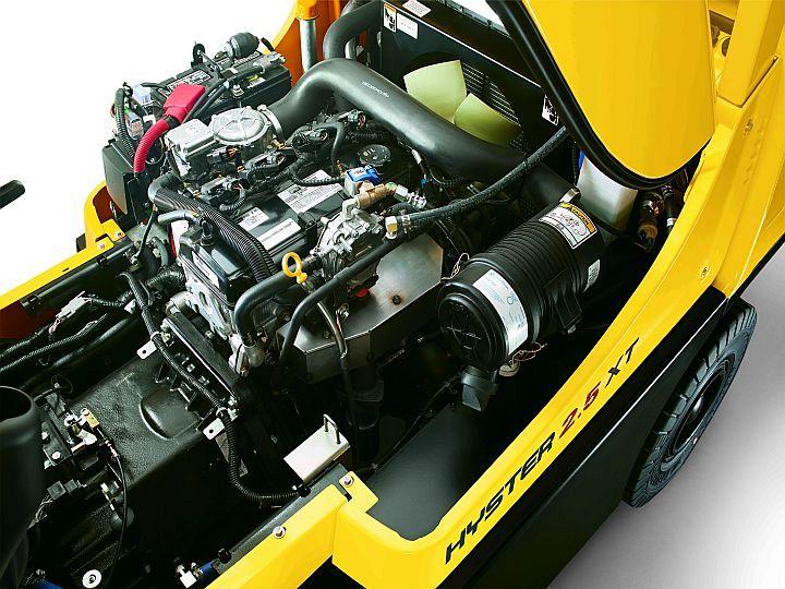 Oryginał Nowe silniki LPG do wózków widłowych HYSTER® - Nowoczesne Hale JY06