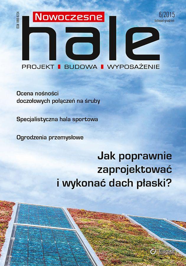 Nowoczesne Hale wydanie nr 6/2015
