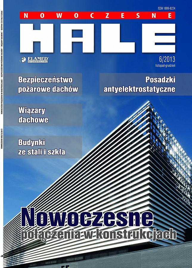 Nowoczesne Hale wydanie nr 6/2013